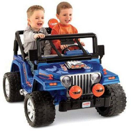 Fisher-Price Power Wheels Hot Wheels Jeep Ride-On