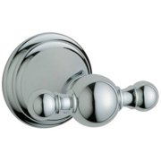 Grohe 40155000 Geneva Robe Hook, Available in Various Colors