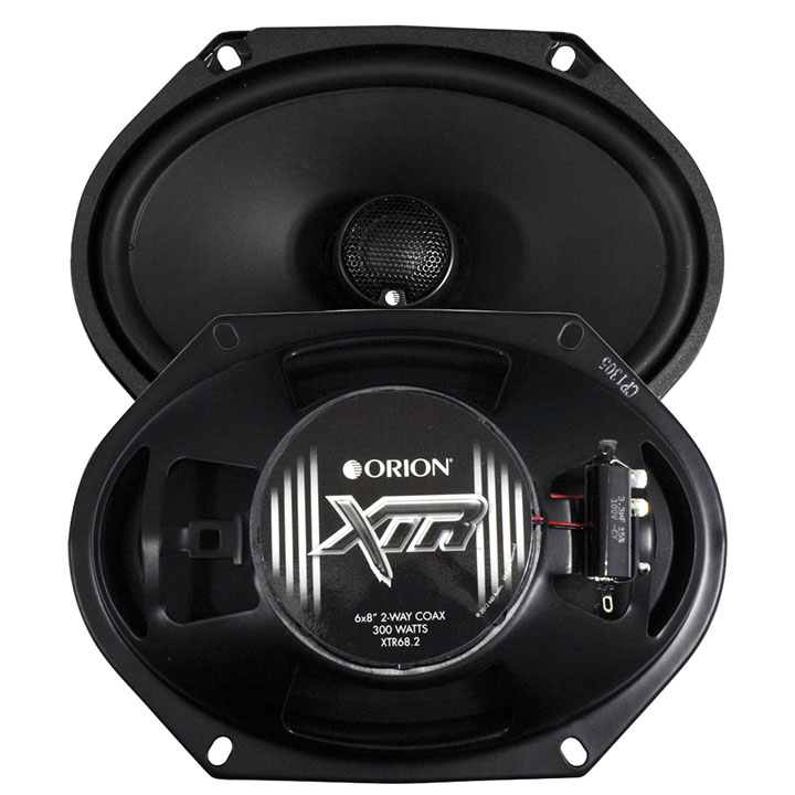 "Orion XTR 6x8"" 2-Way Coaxial Speaker"