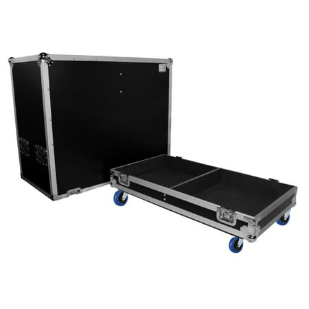 Prox Ata Style Flight Case For 2X Qsc K10 Speakers