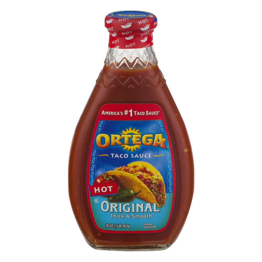 Ortega Taco Sauce Original Hot, 16.0 OZ