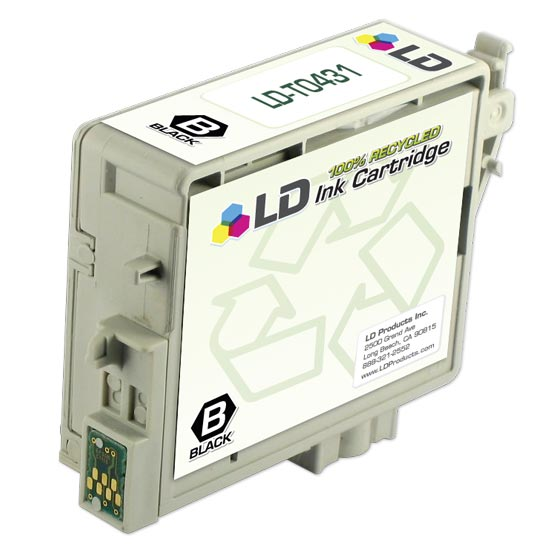 LD Remanufactured High Yield Black Ink for Epson T043120