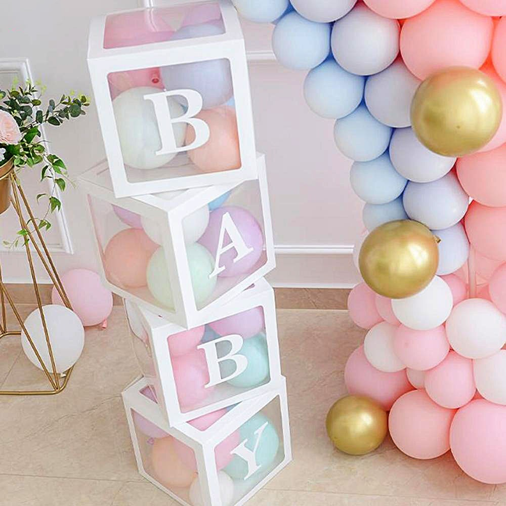 Girl Boy Baby Shower Birthday Balloon Decoration ...