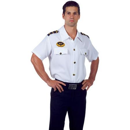 Healthy Halloween Tips For Adults (Pilot Adult Halloween Shirt)