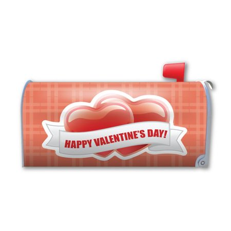 Magnet America Happy Valentine's Day Magnetic Mailbox Cover (Valentine Mailboxes)