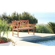 Malibu Eco-friendly Outdoor Classic Garden Bench