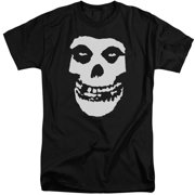 Misfits Fiend Skull Mens Big And Tall Shirt