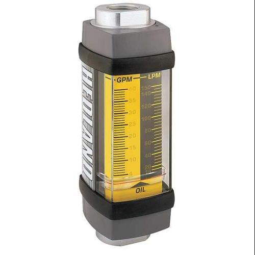 Hedland H600A-002 Flowmeter, 0.2-2.0 / 1-7.5 GPM/LPM