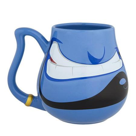 Disney Parks Aladdin Genie Face Ceramic Coffee Mug New](Face Mug)