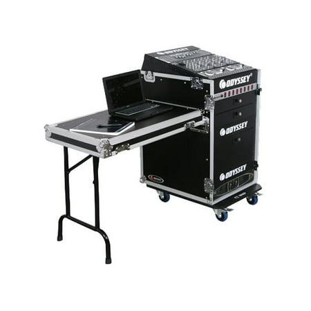 Odyssey Cases FZ1316WDLX New Ata Combo Rack DJ Pro Audio Case W/ 16 X 13 Space