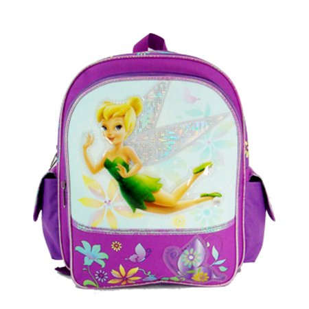 Disney Tinkerbell Backpack (Small Backpack - - Tinkerbell - Magic Butterfly New Book Bag)
