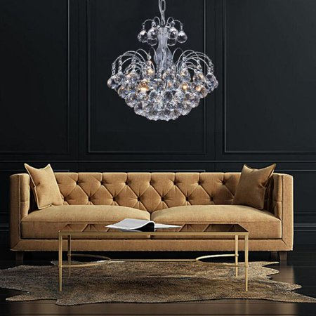 Outad crystal chandelier modern chandelier drop light elegant outad crystal chandelier modern chandelier drop light elegant pendant lamp ceiling fixture living room aloadofball Images