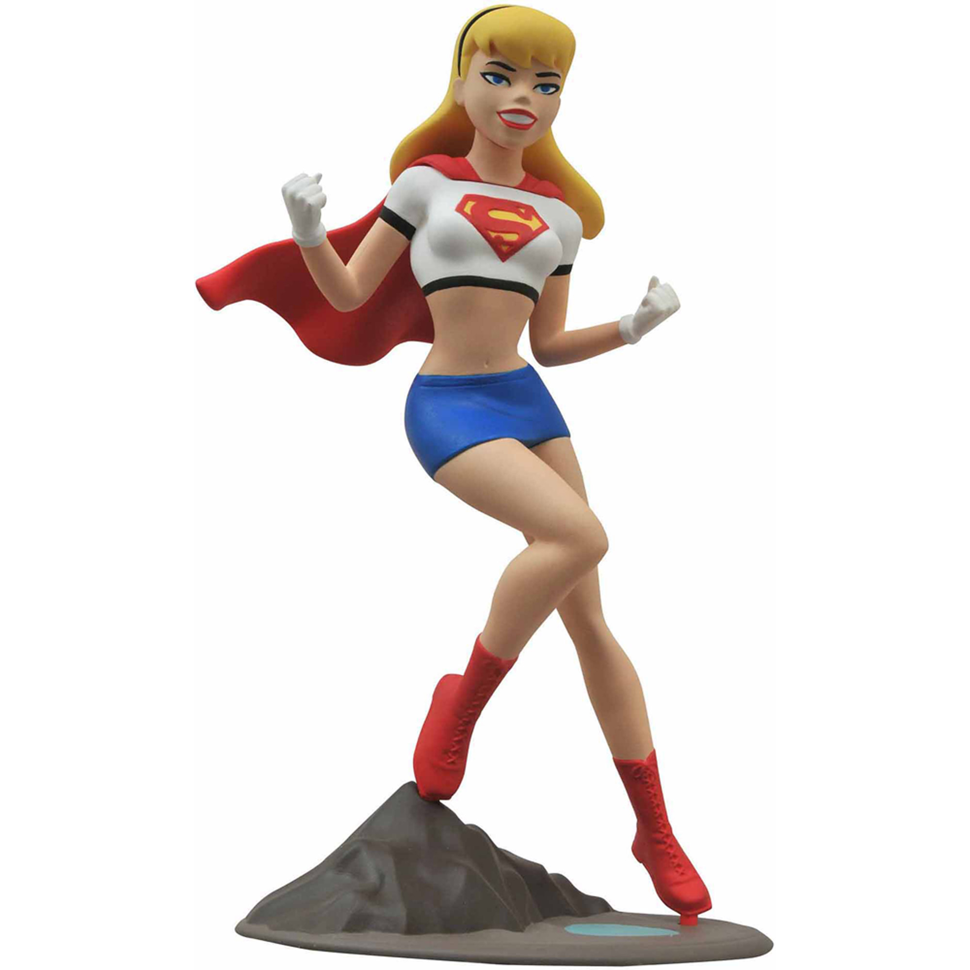 Diamond Select Toys Femme Fatales Superman Animated Supergirl Statue