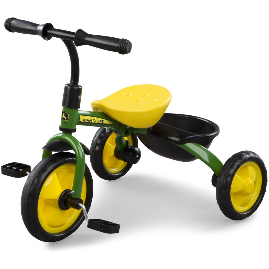 John Deere Steel Tricycle, Green