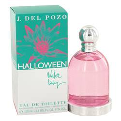 Halloween Water Lilly by Jesus Del Pozo Eau De Toilette Spray 3.4 oz