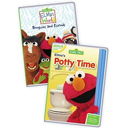Potty Time Elmo - Elmo's Potty Time / Elmo's World: Penguins and Friends (DVD)