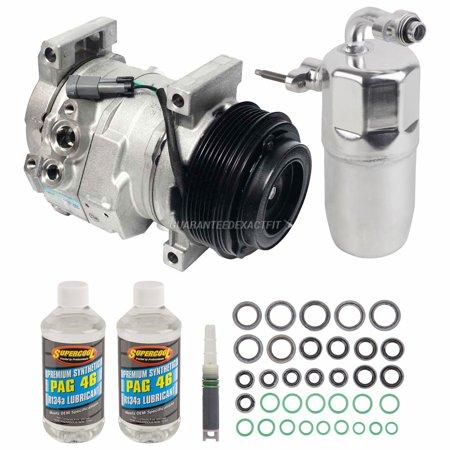 - OEM AC Compressor w/ A/C Repair Kit For 2010 Chevy Silverado GMC Sierra 6.6L