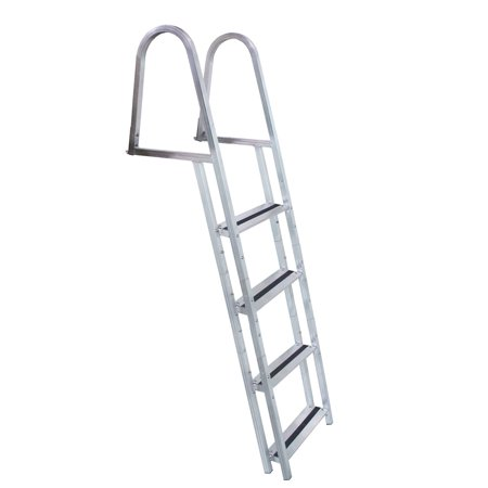 DOCK EDGE STAND-OFF ALUMINUM 4 STEP LADDER W/ QUICK RELEASE Dock Edge Line Holder