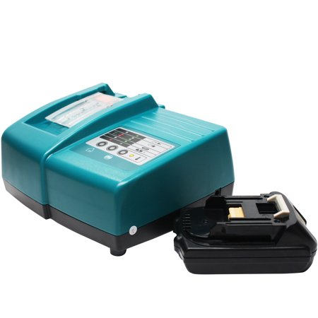 Makita BL1815 Battery + Universal Charger for Makita Replacement - For Makita 18V BL1815 Power Tool Batteries and Chargers (1500mAh, Lithium-Ion) - image 4 de 4