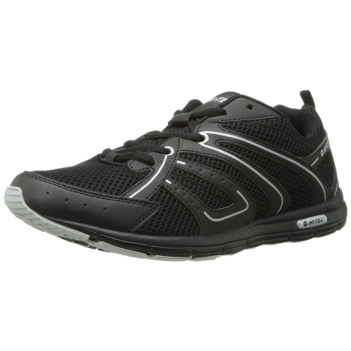 Click here to buy Hi-Tec Darwen Mens Black Silver Sneakers by Hi-Tec.