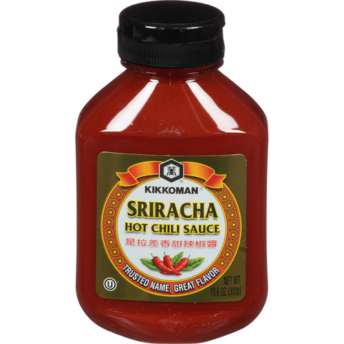Kikkoman Sriracha Hot Chili Sauce, 10.6 oz, (Pack of 9)