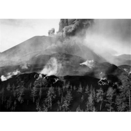 Posterazzi SAL9903262 Mexico Michoacan Paricutin Smoke Erupting From a Volcano Poster Print - 18 x 24 in. - image 1 of 1