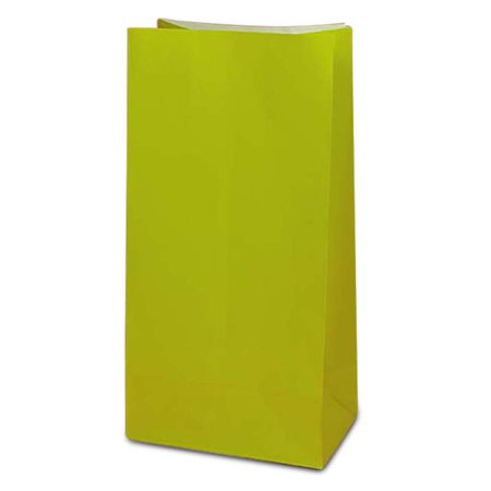 Green Party Bags Party Supplies | Quantity: 50 | Width: 4 5/8