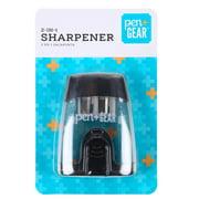 Pen + Gear 2-in-1 Plastic Sharpener, Black Color, 1 Count