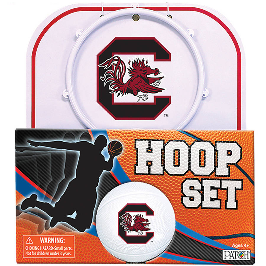Officially Licensed NCAA South Carolina Hoop Set