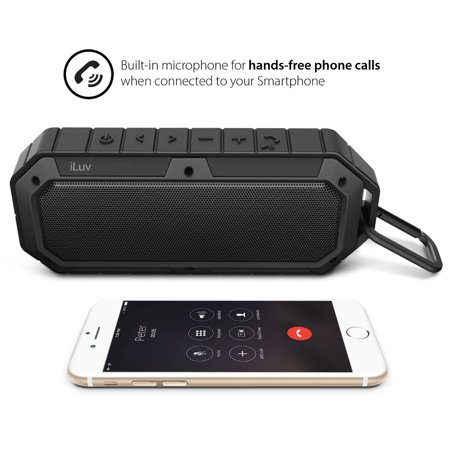 Iluv Collisionbk Rugged Amp Water Resistant Bluetooth