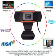 PC Webcam 1080P Full HD Webcam USB Desktop Laptop Webcam Live Streaming Webcam with Microphone Widescreen HD Video Webcam
