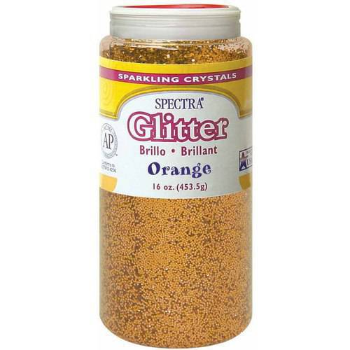 Spectra Non-Toxic Glitter Crystal, Multiple Colors, 1 Pound Jar