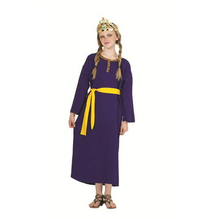 Queen Esther Purim Costume (Queen Esther-Med Child)