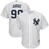 e1358132b Product Image Aaron Judge New York Yankees Majestic Home Cool Base Player  Jersey - White Navy