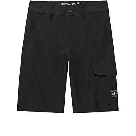 c8d67f5605 Vans - Vanphibian Boys Black Vans Board Shorts Cargo Pants - Walmart.com