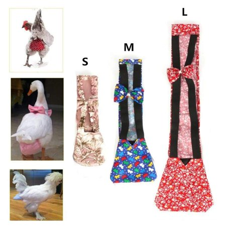 Chicken Harness Hen size With 6-foot Matching belt - Adjustable, elastic, Comfortable, Breathable, Small Size, Suitable for Chicken, Duck or