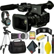 Panasonic AG-UX180 4K Premium Professional Camcorder w/ Carry Case