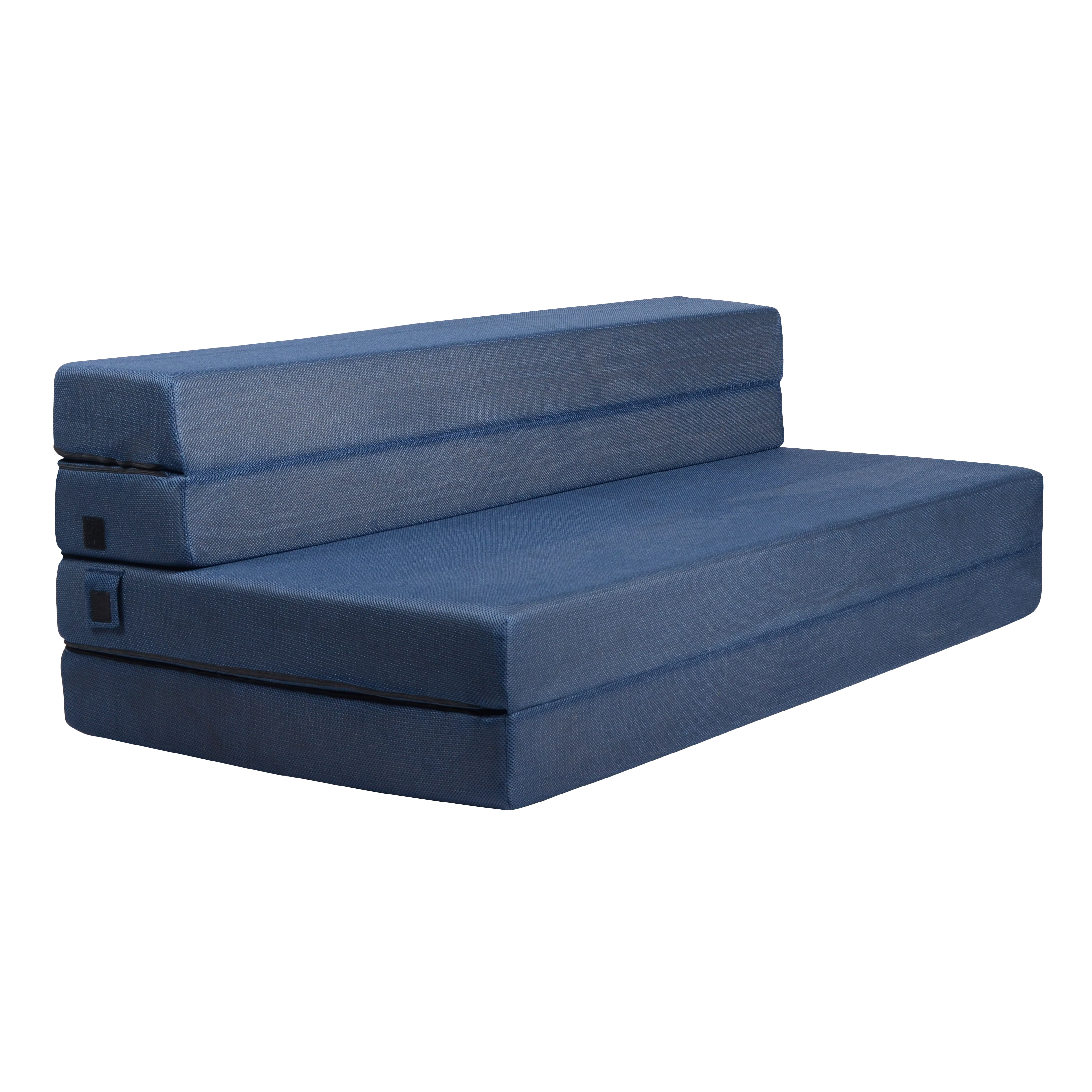Milliard Tri Fold Foam Folding Mattress And Sofa Bed For Guests Or Floor Mat Queen 78x58x4½ Inch