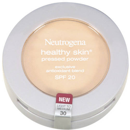 Neutrogena Healthy Skin Pressed Powder SPF 20, Light To Medium 30, .34 Oz
