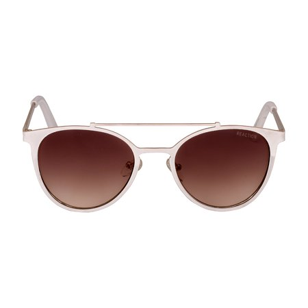 Kenneth Cole Reaction Metal Frame Brown Gradient Lens Ladies Sunglasses (Best Oakley Lenses)