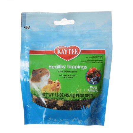 Kaytee Fiesta Healthy Toppings Mixed Fruit - Small Animals 1.6 oz