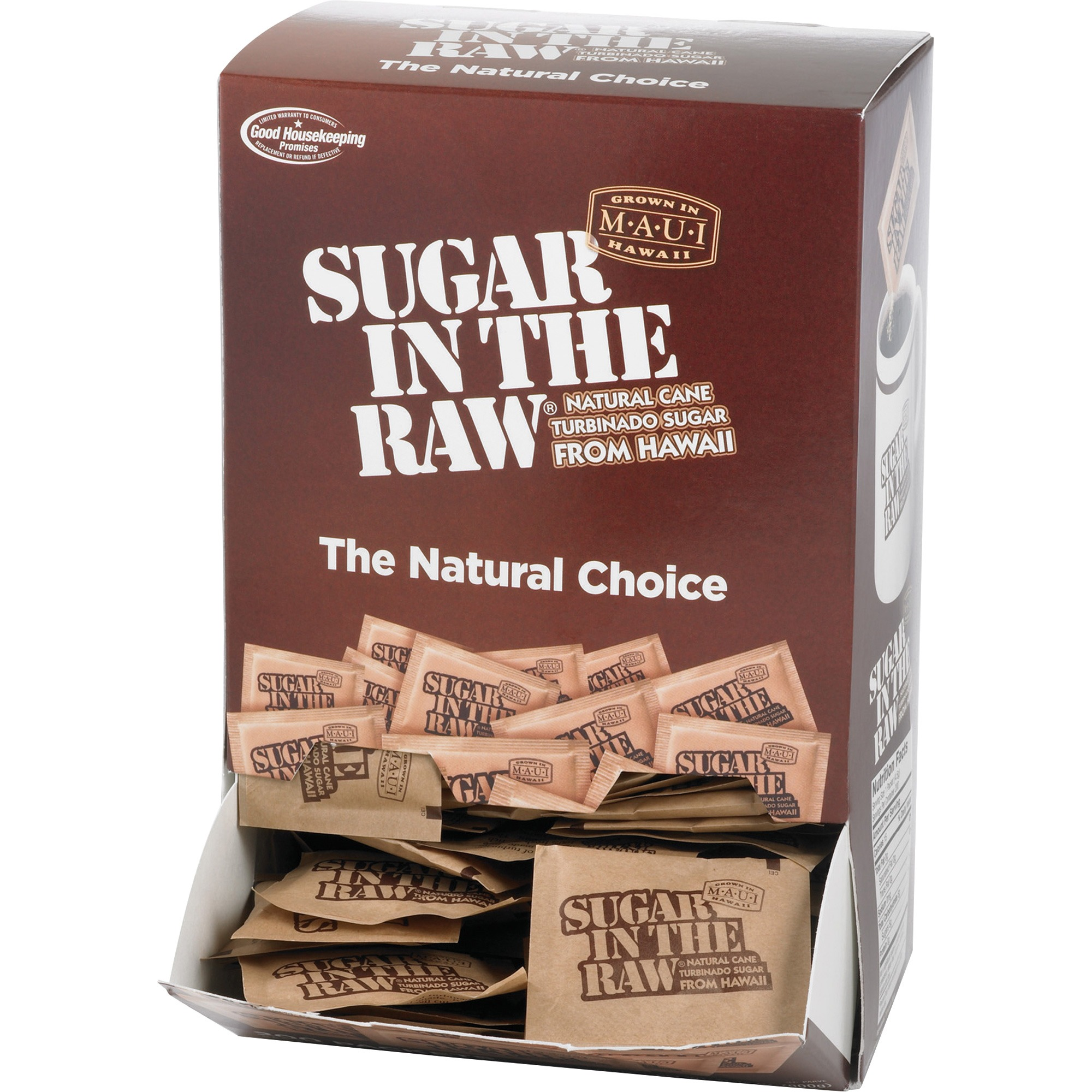 Sugar In The Raw Sweetener Packets, 200 / Box (Quantity)