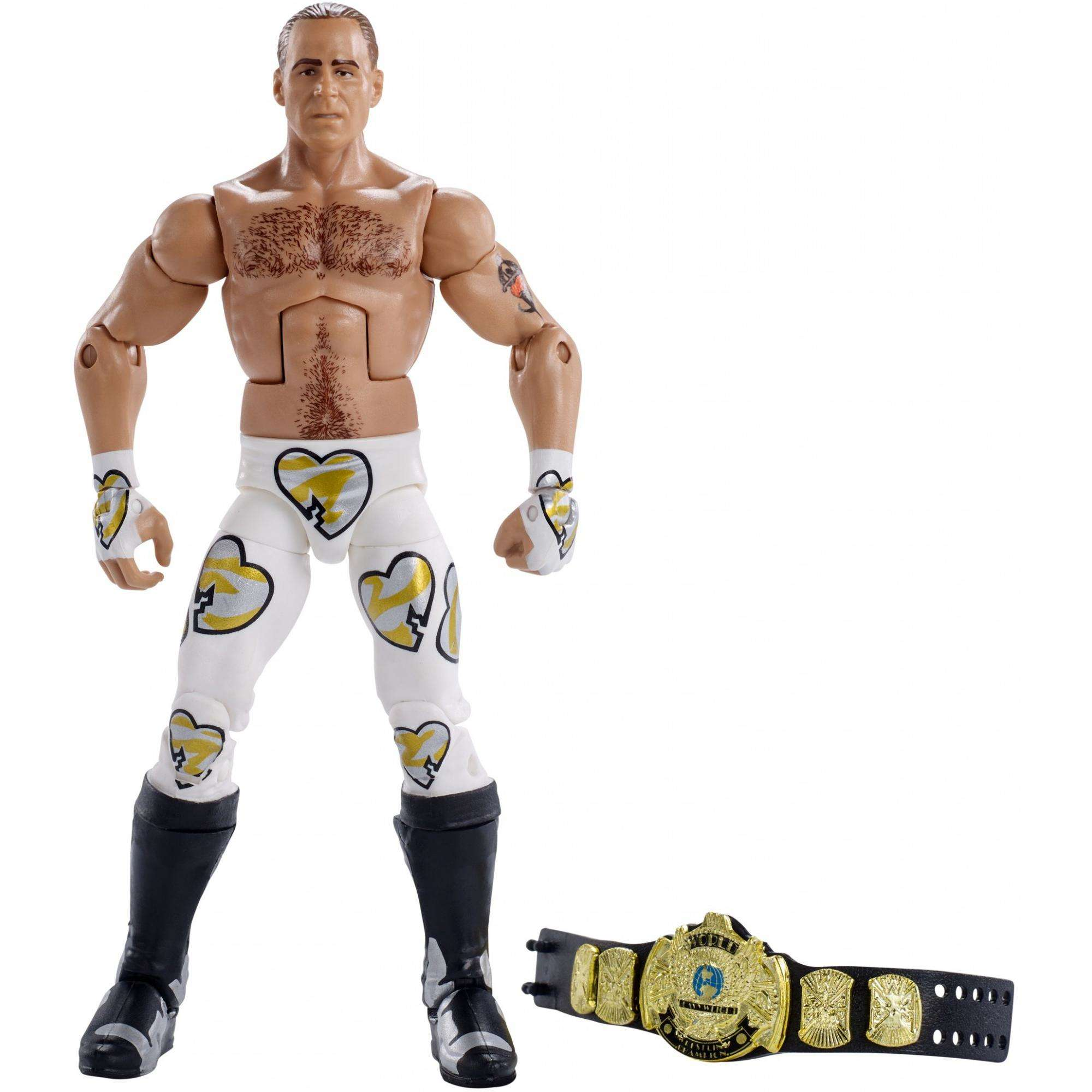 WWE Wrestlemania Elite Shawn Michaels Figure - Wrestlemania 12