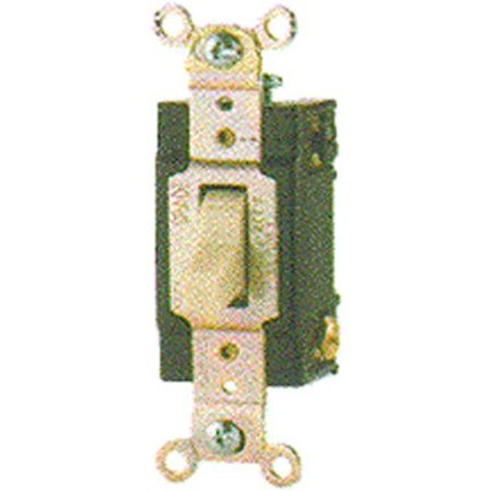 Cooper Wiring CSB120V 20 Amp Single Pole Switch, Ivory - image 1 of 1