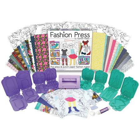 Fashion Press Deluxe Activity Kit-