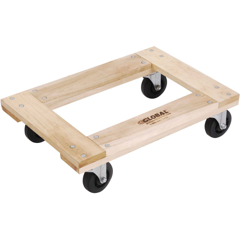 Hardwood Dolly - Open Deck, 36 x 24, 1200 Lb. Capacity, Lot of 1
