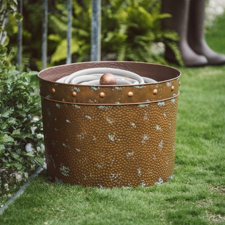 Belham Living Rocco Metal Hose Pot - Copper Finish ()