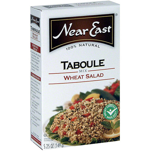 Near East Wheat Salad Taboule Mix, 5.25 oz (Pack of 12)