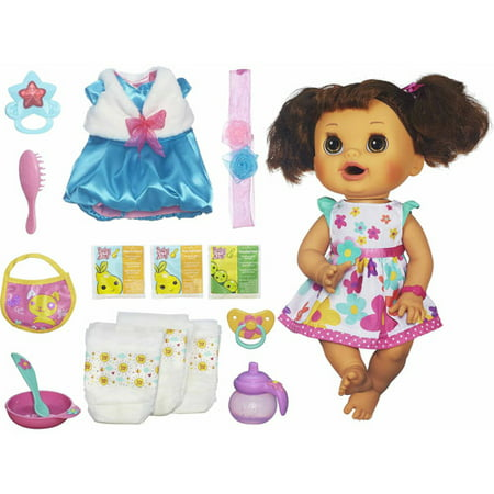 Baby Alive Clothes At Walmart Classy Baby Alive Real Surprises Baby Doll Bonus Pack Walmart