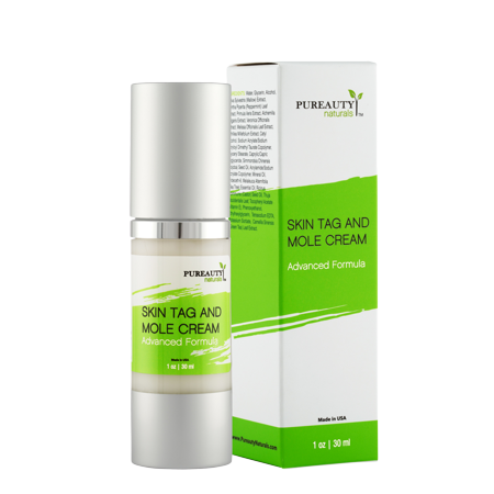 Skin Tag And Mole Cream By Pureauty Naturals: Advanced Formula With Natural Ingredients, Nourishing Moisturizer For A Healthy Complexion, Specialized Formula For Skin Tag, Warts and (Best Ingredients In Skin Care Products)